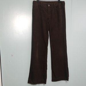 J.CREW Brown corduroy pants size 2 -C8